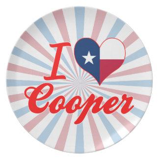 I Love Cooper, Texas Plate