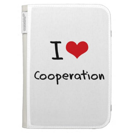 I love Cooperation Cases For Kindle