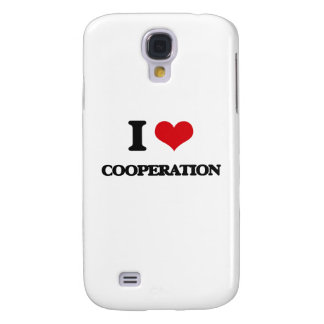 I love Cooperation Galaxy S4 Cases