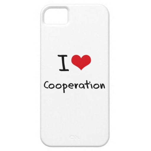 I love Cooperation iPhone 5 Covers