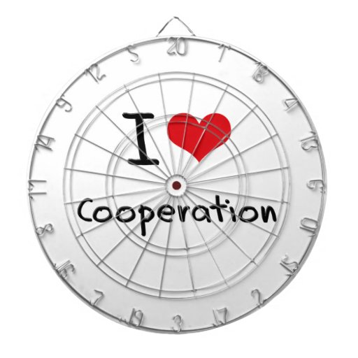 I love Cooperation Dartboards