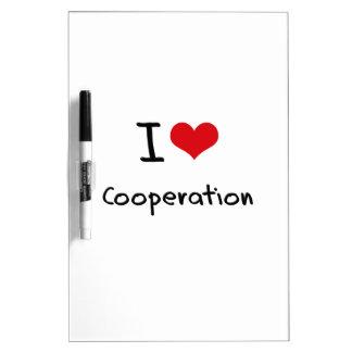 I love Cooperation Dry-Erase Board
