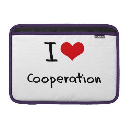I love Cooperation MacBook Air Sleeves