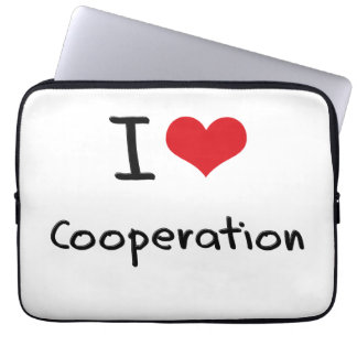 I love Cooperation Laptop Computer Sleeves
