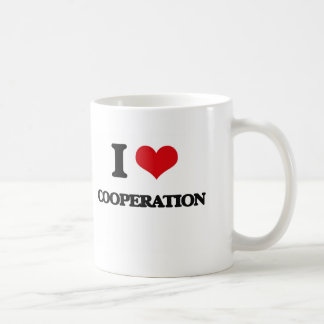 I love Cooperation Coffee Mugs
