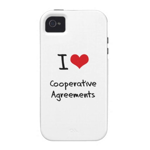 I love Cooperative Agreements iPhone 4/4S Case