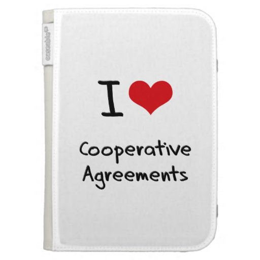 I love Cooperative Agreements Kindle 3G Covers