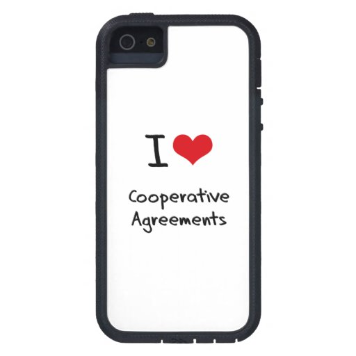 I love Cooperative Agreements iPhone 5/5S Cover