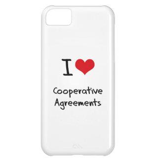 I love Cooperative Agreements iPhone 5C Case