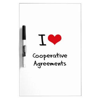 I love Cooperative Agreements Dry-Erase Whiteboard