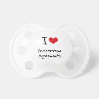 I love Cooperative Agreements Pacifiers