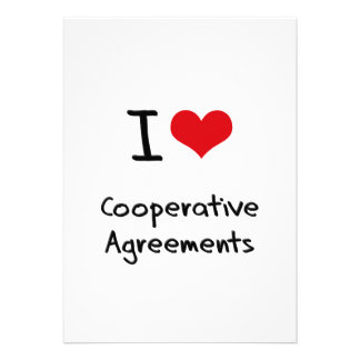 I love Cooperative Agreements Card