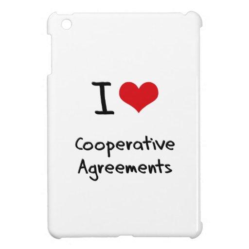 I love Cooperative Agreements iPad Mini Covers