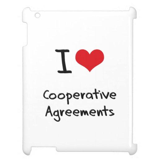 I love Cooperative Agreements iPad Cases