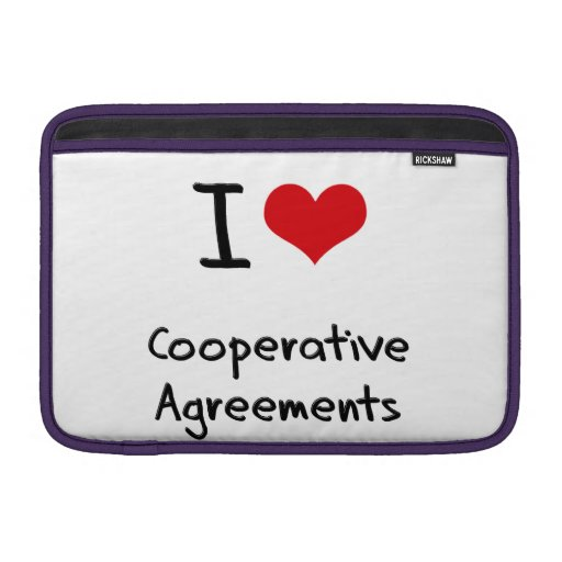 I love Cooperative Agreements Sleeves For MacBook Air