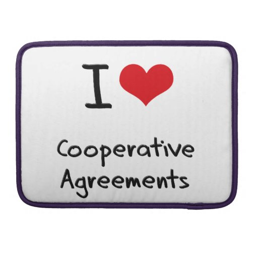 I love Cooperative Agreements Sleeve For MacBook Pro
