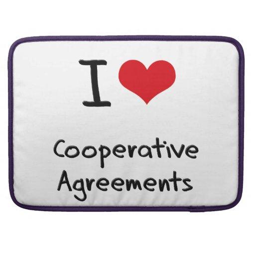 I love Cooperative Agreements Sleeve For MacBooks