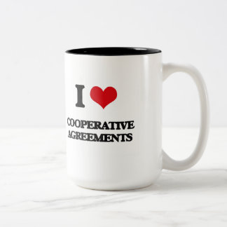 I love Cooperative Agreements Coffee Mugs
