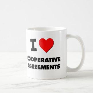 I love Cooperative Agreements Mugs