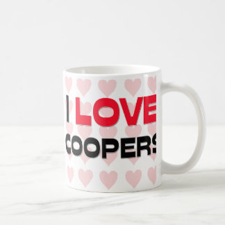 I LOVE COOPERS BASIC WHITE MUG