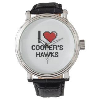 I love Cooper's Hawks Digital Design Wristwatches