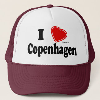 I Love Copenhagen Trucker Hat