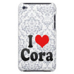 I love Cora Barely There iPod Cases