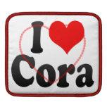 I love Cora iPad Sleeves