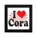 I love Cora Trinket Box