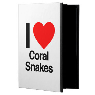 i love coral snakes cover for iPad air
