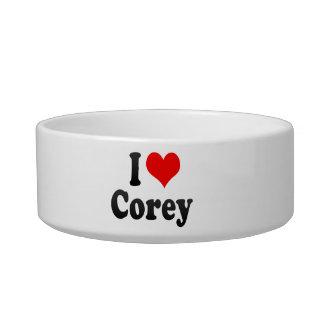 I love Corey Pet Bowls
