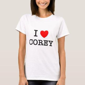 I Love Corey T-Shirt