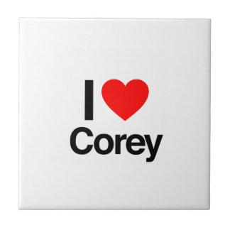 i love corey tile