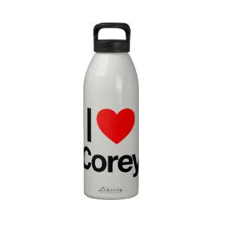 i love corey reusable water bottles