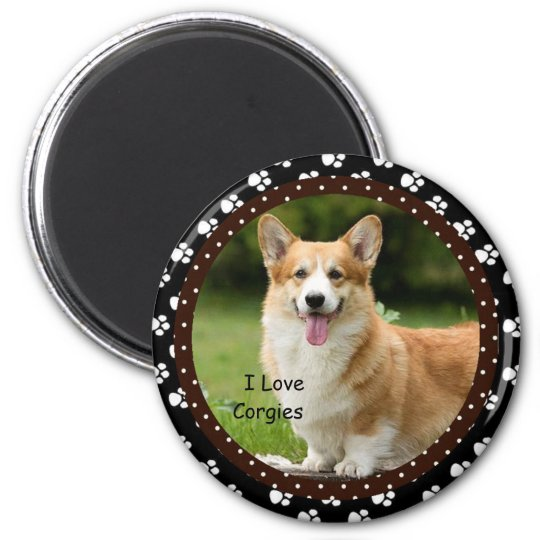 I love Corgies  Magnet