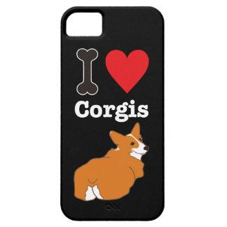I LOVE CORGIS <Blown-B> iPhone 5 Covers