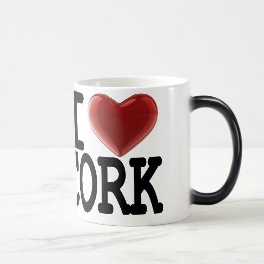 I Love CORK Magic Mug
