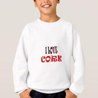 I  LOVE CORK SWEATSHIRT