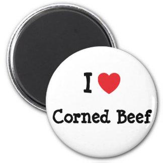 I love Corned Beef heart T-Shirt Magnets
