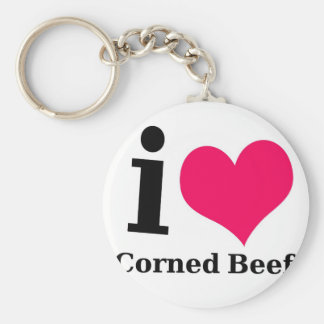 I love Corned Beef Key Ring