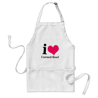 I love Corned Beef Standard Apron