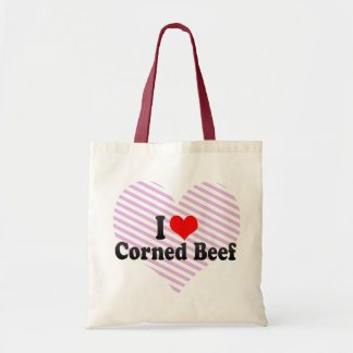 I Love Corned Beef Tote Bag