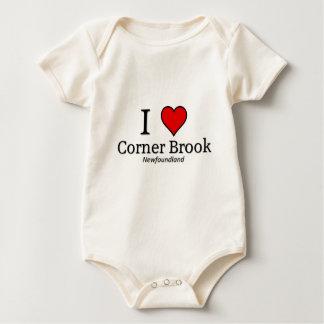 I love Corner brook Baby Bodysuit