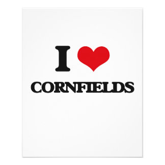 I love Cornfields 11.5 Cm X 14 Cm Flyer