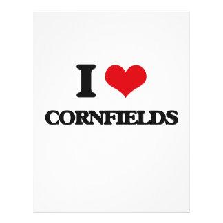 I love Cornfields 21.5 Cm X 28 Cm Flyer