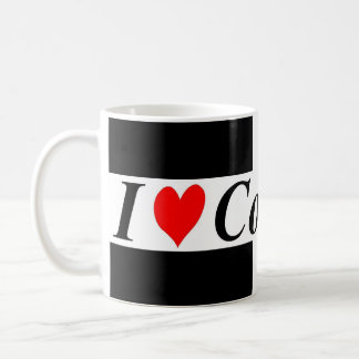 I Love Cornwall Flag Mug