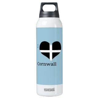 I Love Cornwall Kernow St Piran Flag Heart Design