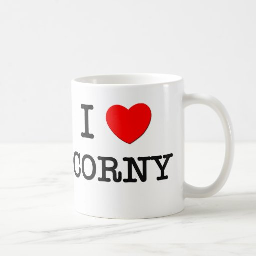 I Love Corny Coffee Mug