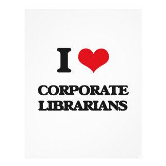 I love Corporate Librarians Custom Flyer