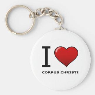 I LOVE CORPUS CHRISTI,TX - TEXAS KEY RING
